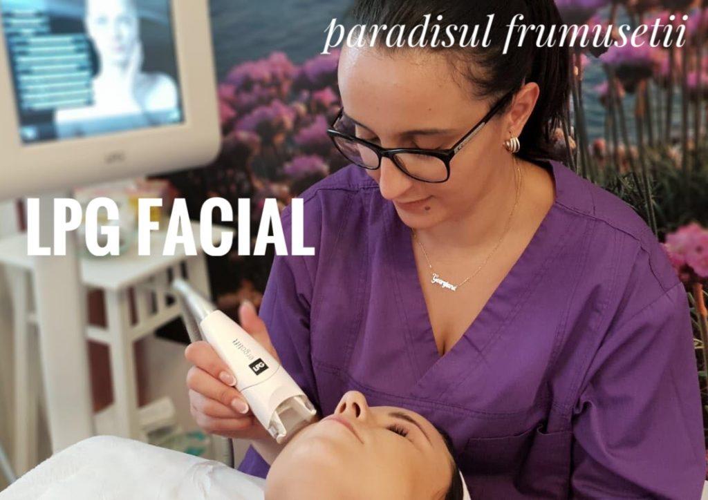 Endermologie faciala, LPG facial la Paradisul Frumusetii